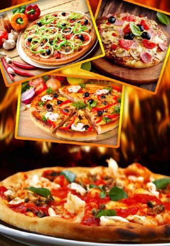Fast food: Pizza (selection Clipart)
