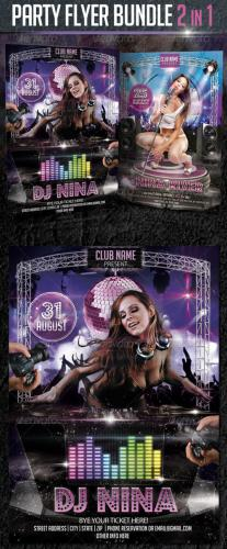 Party Flyer Bundle 2in1
