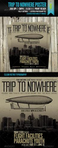 Trip To Nowhere Poster