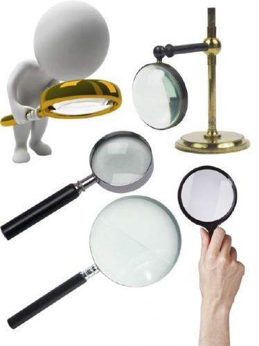 Magnifying Glass: Magnifier (selection Clipart)