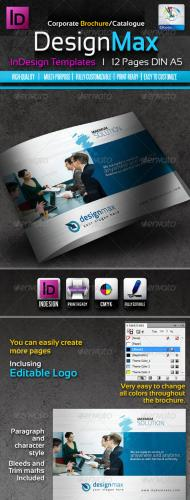 DesignMax InDesign Brochure/Catalogue 12pages