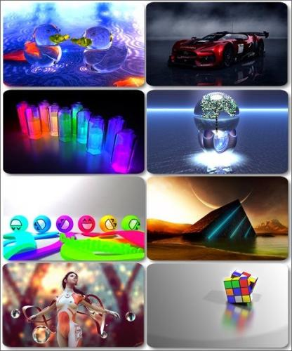 HD Wallpapers and Images - 3D Computer graphics (edition 5)