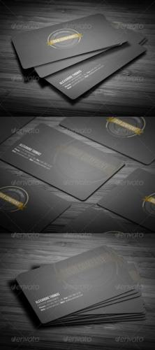 Rounded Clean Business Card