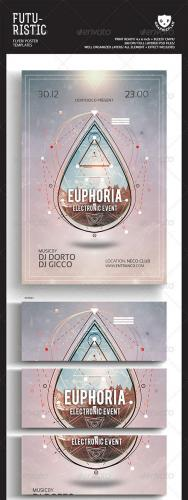 Electro Event Flyer/Poster Templates