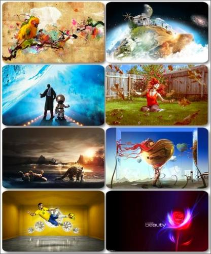 Collection of creative wallpapers - Art images (part 20)