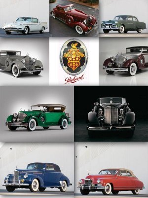 Packard (classic American cars) collection of images