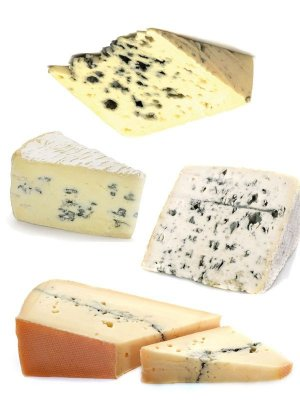 Dairy products: Blue Cheese (the images)