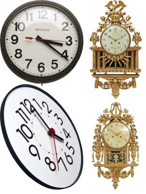 Wall Clock (compilation Clipart) Part Two