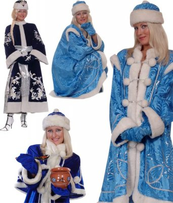 Photo stock: Christmas Snow Maiden