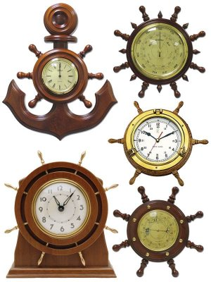Watches (nautical theme) A compilation Clipart