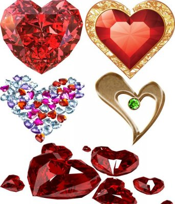 Photo stock: Heart - jewelry