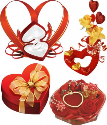 Photo stock: gift heart