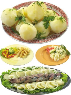 Photo stock: food - dish of potatoes