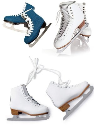 Sport shoes: Skates (collection of images)