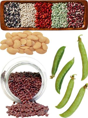 Photostock: legumes - peas and beans