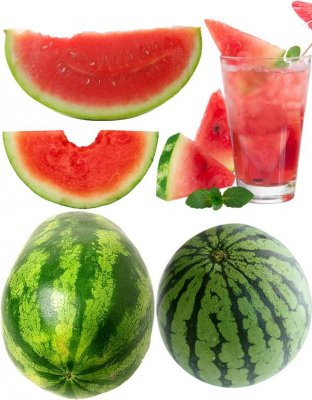 Watermelon - a collection of stock images