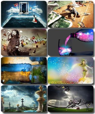 Collection of creative wallpapers - Art images (part 39)