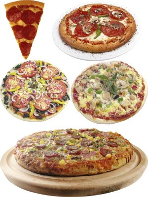 Fast food: pizza