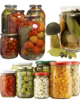 Seaming, pickles, preserves, jars, jam