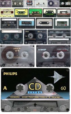 Audio Cassette, Cassette recorder (large collection)