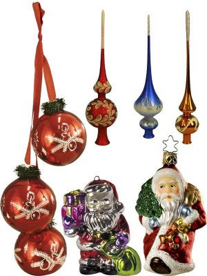 Christmas tree ornaments and toys (part 1)