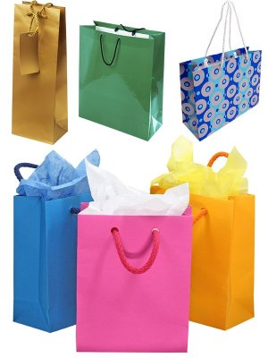 Shopping bags (large collection of images)
