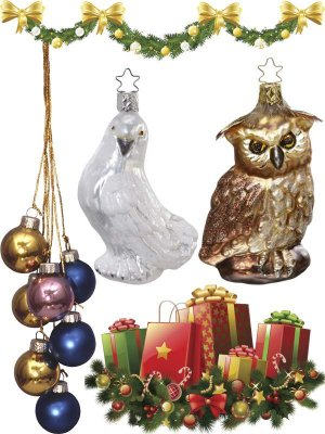Christmas tree ornaments and toys (part 4)