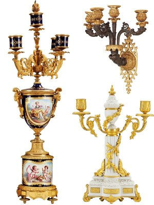Candelabra (collection of images)