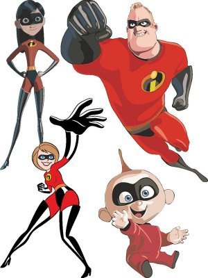 The Incredibles - Vector Characters
