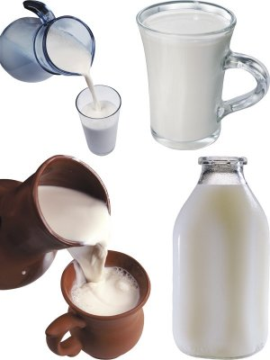 Milk - a selection of stock images