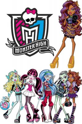 Monster High in vector