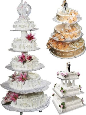 Stock Photo: Wedding Cake (part two)