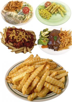Side dishes: French fries (a compilation clip)