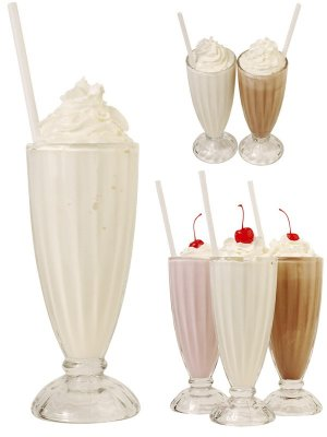 Beverages: Milkshakes (photostock)