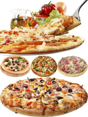 Photo stock: fast food - pizza (part two)