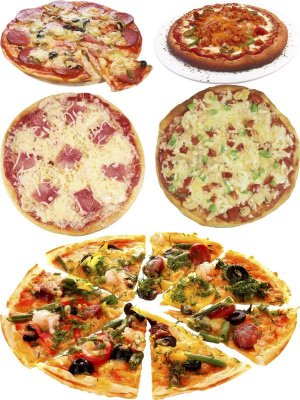 Photo stock: fast food - pizza (Part Four)