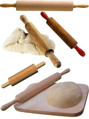 Photo stock: kitchen items - rolling pin
