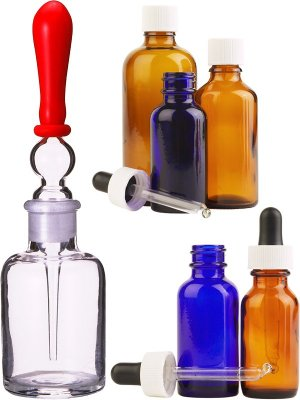 Photo stock: pipettes and flasks