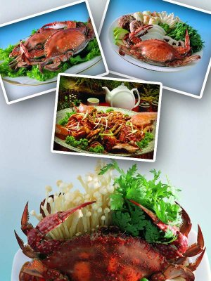 Seafood: crab dishes