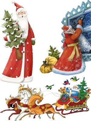 Santa Claus - Christmas Graphics (Part Two)
