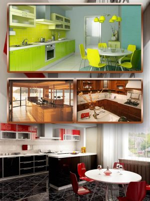Selection of interior: Kitchen