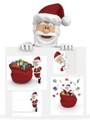 Jolly Santa Claus - images