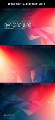 Geometric Backgrounds Vol.1 664242