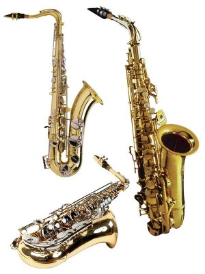 Wind Instruments: Saxophone (clipart)