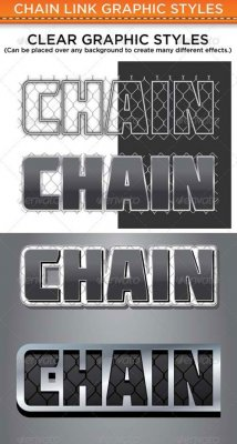 Chain Link Graphic Styles 58746