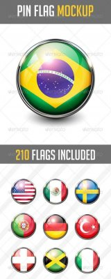 210 Pin Flags MockUp