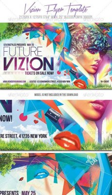 Vizion Flyer Template