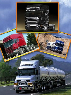 Trucks Scania (images)