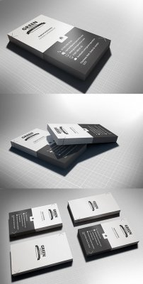 Business card mockups V3