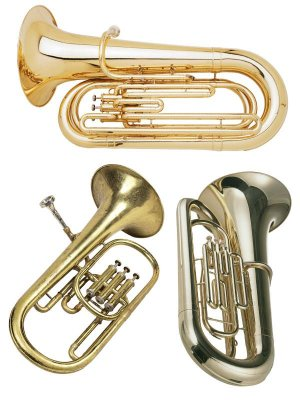 Wind Instruments: Tuba (clipart)